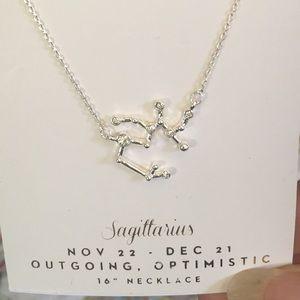 """LC Lauren Conrad Jewelry - LC horoscope Sagittarius 16"""" necklace moc"""